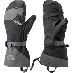 Outdoor Research Meteor Mitts-Black / Charcoal