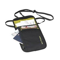 Sea To Summit Travelling Light Neck Wallet - Black-Black
