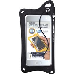 Sea To Summit TPU Audio Waterproof Case for Smartphones-Black