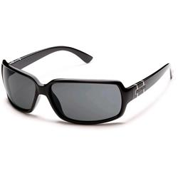 Suncloud Poptown, Black Frame, Polarized Gray Lens-Not Applicable