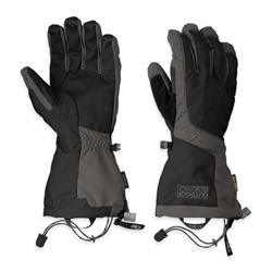 Outdoor Research Arete Gloves - Mens-Black / Charcoal