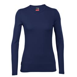 Icebreaker Tech Top LS Crewe - Womens-Admiral