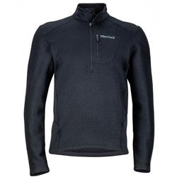 Marmot Drop Line 1/2 Zip - Mens-Black