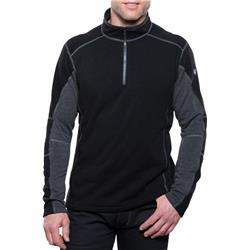 Kuhl Revel 1/4 Zip - Mens-Black / Steel