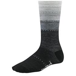 Smartwool Sulawesi Stripe Socks - Womens-Charcoal Heather