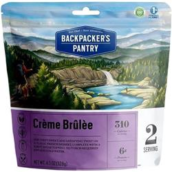 Backpackers Pantry Creme Brulee - 2 Serving (Gluten & Wheat Free)-Not Applicable