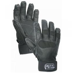 Petzl Cordex Plus Midweight Belay / Rappel Glove - Black - Small-Not Applicable