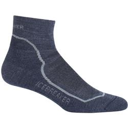 Icebreaker Hike+ Mini Socks - Light Cushion - Mens-Fathom Heather / Twister Heather / Midnight Navy