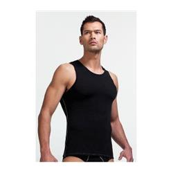 Icebreaker Anatomica Tank - Bodyfit 150 Ultralite - Mens-Black / Monsoon
