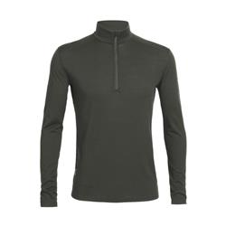 Icebreaker Everyday LS Half Zip - Mens-Cargo