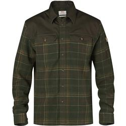 Fjallraven Granit Shirt - Mens-Green