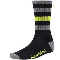 Striped Hike Light Crew Socks - Unisex