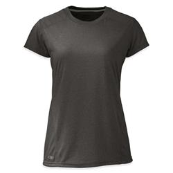Outdoor Research Ignitor SS Tee - Womens-Charcoal