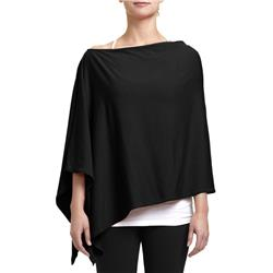 Fig Clothing Pon Poncho - Womens-Black
