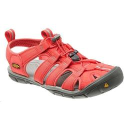 Keen Clearwater CNX - Hot Coral / Drizzle - Womens-Not Applicable