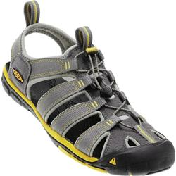 Keen Clearwater CNX - Gargoyle / Super Lemon - Mens-Not Applicable