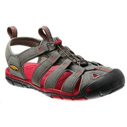 Keen Clearwater CNX - Magnet / Mars Red - Mens-Not Applicable