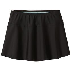 Prana Sakti Swim Skirt - Womens-Black
