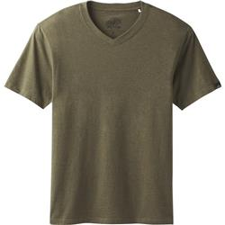 Prana prAna V-Neck SS - Mens-Cargo Green