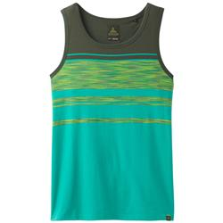 Prana Throttle Tank - Mens-Emerald Waters