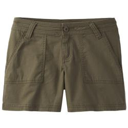 "Prana Tess Shorts, 5"" Inseam - Womens-Cargo Green"