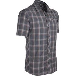 Icebreaker Departure SS Shirt Plaid - 150 Ultralite - Mens-Monsoon Plaid