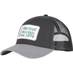 Marmot Retro Trucker Hat-Black / Slate Grey