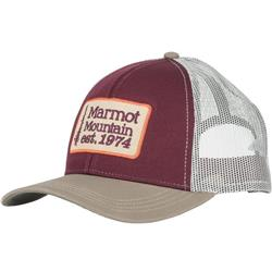 Marmot Retro Trucker Hat-Burgundy / Cavern