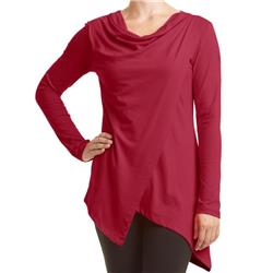 Fig Clothing Pai Top - Womens-Crimson Red