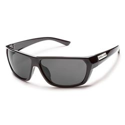 Suncloud Feedback, Black Frame, Gray Polarized Polycarbonate Lens-Not Applicable