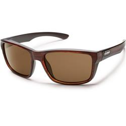 Suncloud Mayor, Burnished Brown Frame, Polarized Brown Lens-Not Applicable