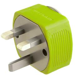 Sea To Summit Travelling Light Travel Adaptor - UK / Hong Kong / Singapore - Single-Not Applicable