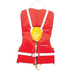 Extrasport Type II - Youth PFD - Red / Yellow-Not Applicable