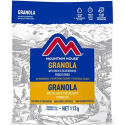 Mountain House Granola with Milk and Blueberries-Not Applicable
