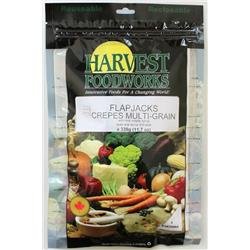 Harvest Foodworks Flapjacks with Syrup - 2 Portion - Breakfast-Not Applicable