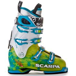 Scarpa Freedom SL - Womens-Lime / Turquoise