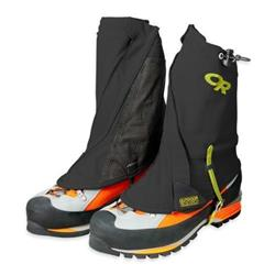 Outdoor Research Endurance Gaiters-Black / Lemongrass