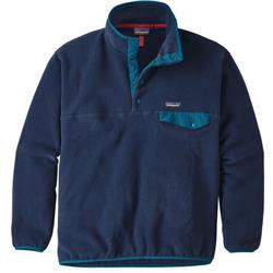 Patagonia Synch Snap-T Pullover - Mens-Navy Blue