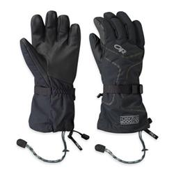 Outdoor Research Highcamp Gloves - Mens-Black