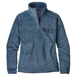 Patagonia Re-Tool Snap-T Pullover - Womens-Railroad Blue - Dolomite Blue X-Dye