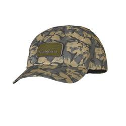 Patagonia Logo Hat-Casting Logo Patch / Fish Camo Classic Tan