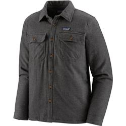 Patagonia Insulated Fjord Flannel Jacket - Mens-Forge Grey