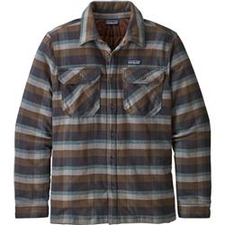 Patagonia Insulated Fjord Flannel Jacket - Mens-Observer / Ink Black