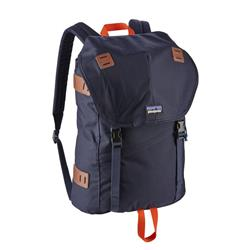 Patagonia Arbor Pack 26L-Navy Blue w/Paintbrush Red