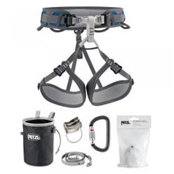 Petzl Corax Kit with Attache, Verso, Bandi, and Power Ball, Size 2-Not Applicable
