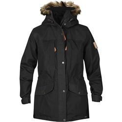 Fjallraven Singi Winter Jacket - Womens-Black