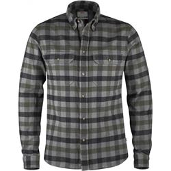 Fjallraven Skog Shirt - Plaid 1 - Mens-Black