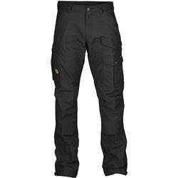 Fjallraven Vidda Pro Trousers, Long - Mens-Black / Black