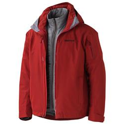 Marmot Sugarhill Component Jacket - Mens-Dark Crimson