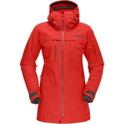 Norrona Roldal Gore-Tex Insulated Jacket - Womens-Tasty Red